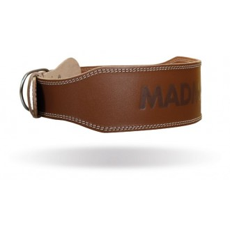 MadMax Full Leather Opasok - Hnedý