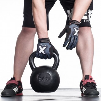 MadMax Crossfit rukavice X Gloves - Červené
