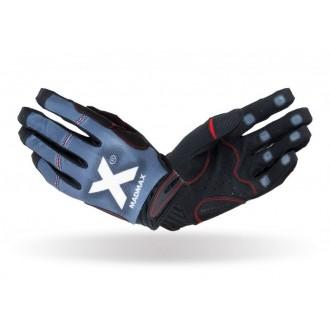 MadMax Crossfit rukavice X Gloves - Sivé