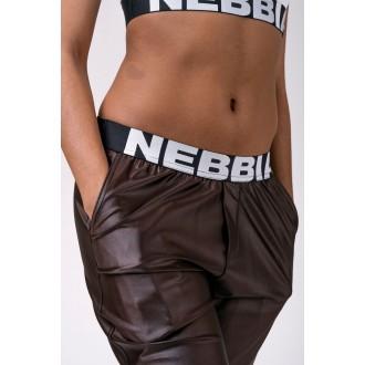 Nebbia Nohavice Sports Drop Crotch 529 - Hnedé