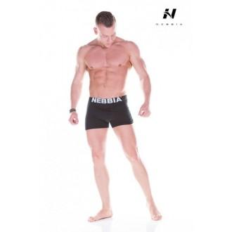 NEBBIA Exkluzívne pánske boxerky 101 - Čierne