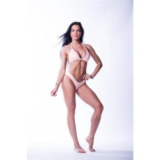 NEBBIA Dámsky Bikini Top Triangle 631 Vrchný diel - Lososové