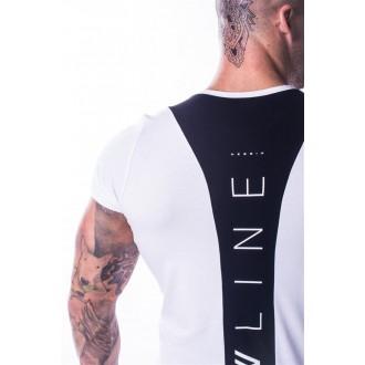 NEBBIA Muscle Back tričko 728 - Biele
