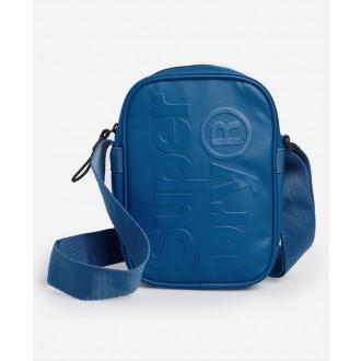 Superdry pánska náprsná taška - Modrá