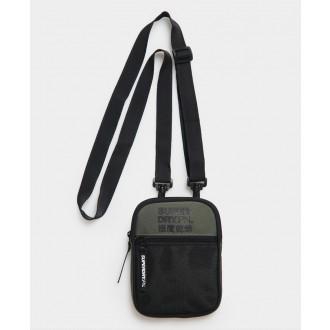 Superdry pánska náprsná taška Sports Pouch - Zelená