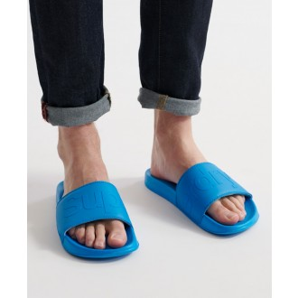 Superdry pánske šľapky City Neon - Modré