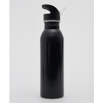 Superdry Športová fľaša Super Steel Bottle - Čierna