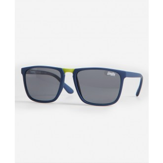 Superdry pánske slnečné okuliare SDR Maverick - Modré