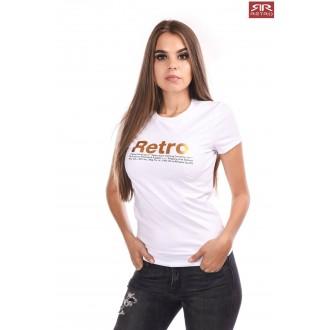 Retrojeans dámske tričko Ariana - Biela