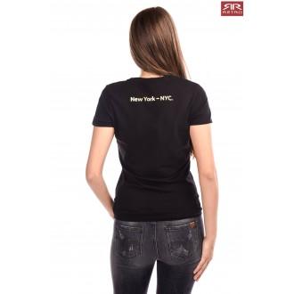 Retrojeans dámske tričko Ariana - Čierna