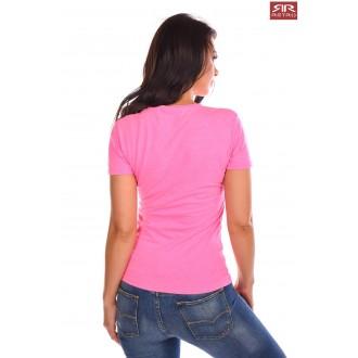 Retrojeans dámske tričko Clara - Ružová