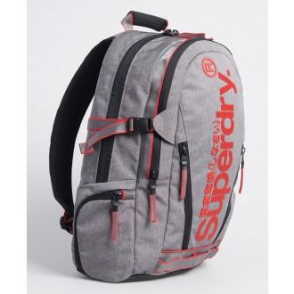 Superdry pánsky ruksak Detroit Classic - Tmavosivá