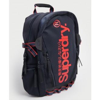 Superdry pánsky ruksak Combray - Tmavomodrá