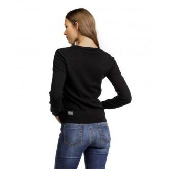 Devergo dámsky pulóver - Čierna