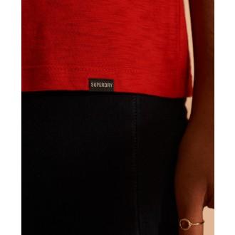 Superdry dámske tričko Scripted - Červená