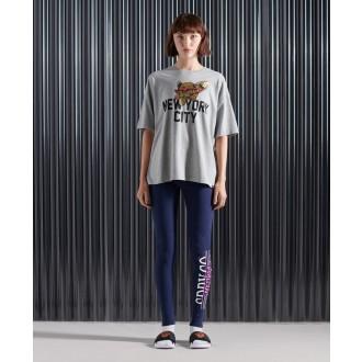 Superdry dámske tričko Graphic - Sivá