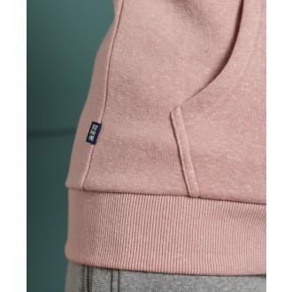 Superdry dámska mikina Label Zip - Ružová
