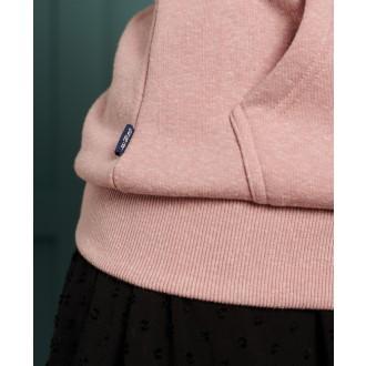 Superdry dámska mikina Label Overhead - Ružová