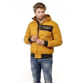 Devergo pánska zimná bunda - Okrová