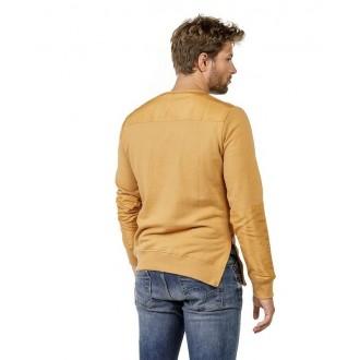 Devergo Pánske dlhorukávové tričko - Béžová