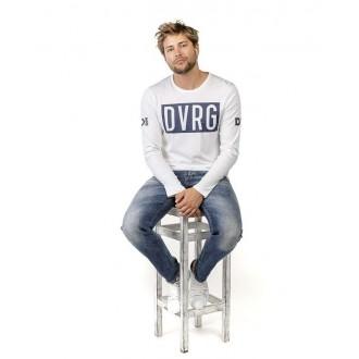 Devergo pánske dlhorukávové tričko - Biela