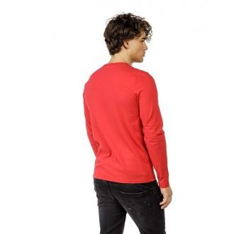 Devergo pánske dlhorukávové tričko - Červená