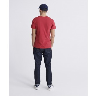 Superdry tričko Copper Label - Červené