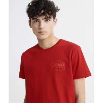 Superdry tričko Tonal Injection - Červené