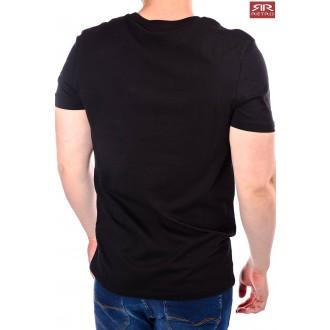 Retrojeans pánske tričko August - Čierna