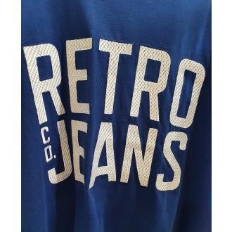 Retrojeans pánske tričko Filip - Modrá