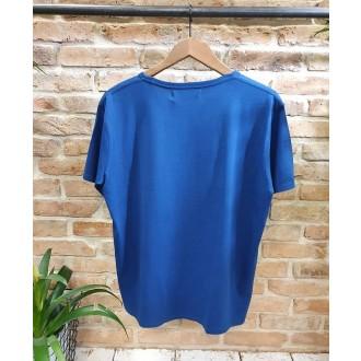 Retrojeans pánske tričko Milton - Modrá