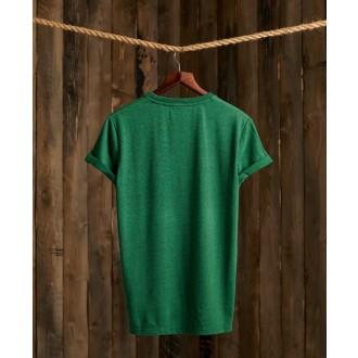 Superdry tričko Vintage Logo Duo - Zelené