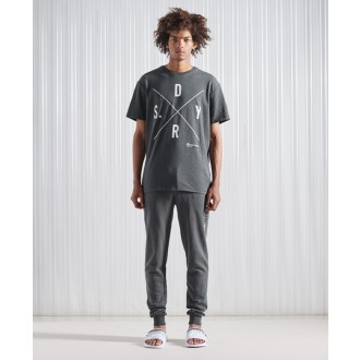 Superdry tričko Surplus SDRY - Sivé