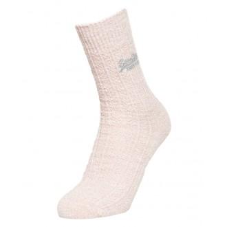 Superdry dámske ponožky Sparkle dvojbalenie - Svetlo sivé