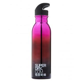 Superdry športová fľaša STAINLESS STEEL SPORTS - Fialová