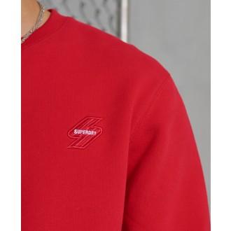 Superdry pánska mikina Sportstyle Crew - Červená