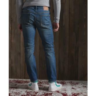 Superdry pánske riflové nohavice Slim Jeans - Modrá