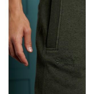 Superdry pánske tepláky Label Classic - Khaki