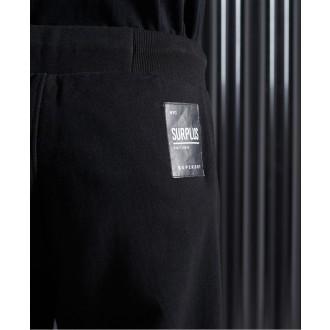 Superdry pánske tepláky Surplus - Čierna