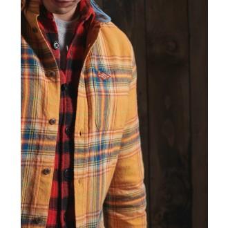 Superdry pánská košeľa Heritage Lumberjack -  Žltá
