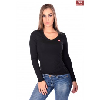 Retrojeans Dámske tričko ZENIT LW20 - Čierna
