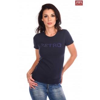 Retrojeans Dámske tričko Hilda - Tmavomodrá