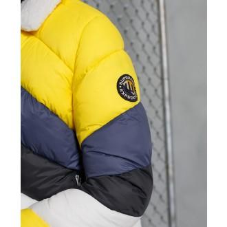 Superdry dámska bunda Splice - Žltá