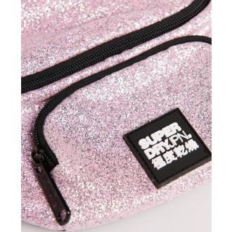 Superdry dámska ľadvinka Glitter - Ružová