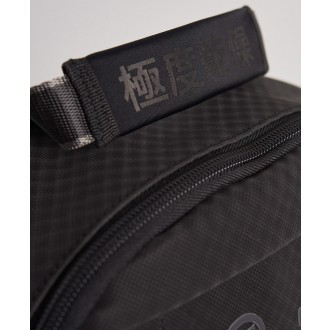 Superdry ruksak Combray Slimline - Čierna