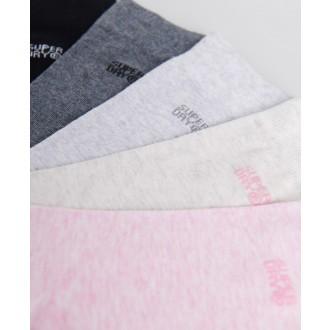 Superdry dámske ponožky Essential 5 Pack - MULTI