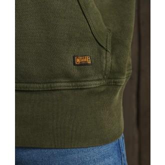 Superdry pánska mikina Copper Label - Zelená