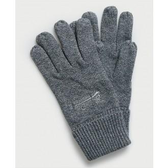 Superdry pánske rukavice Orange Label - GREEN