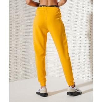 Superdry dámske tepláky Training - Žlté