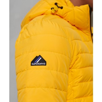 Superdry pánska bunda Hooded Fuji - YELLOW